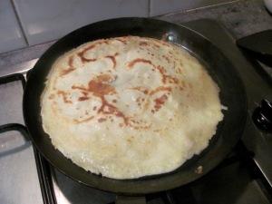 Golden pancake